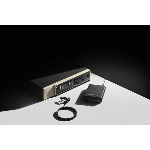 Sennheiser EW-D ME2 SET Digital Wireless Omni Lavalier Microphone System (Q1-6: 470 to 526 MHz) #SEEWDME2Q16 MFR #EW-D ME2 SET (Q1-6)