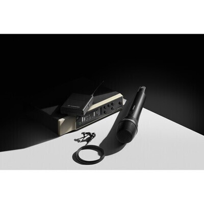 Sennheiser EW-D ME2/835-S SET Digital Wireless Combo Microphone System (Q1-6: 470 to 526 MHz) #SEME2835SQ16 MFR #EW-D ME2/835-S SET (Q1-6)