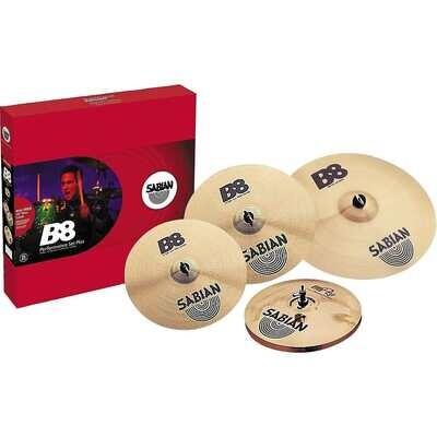 "B8PRO PERF SET PLUS FREE 18""  Sabian B8 Performance Set Plus with Free 18"" Thin Crash"