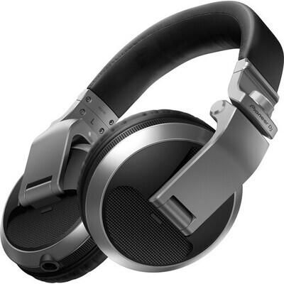 Pioneer DJ HDJ-X5 Over-Ear DJ Headphones (Silver) #PIHDJX5S #HDJ-X5-S
