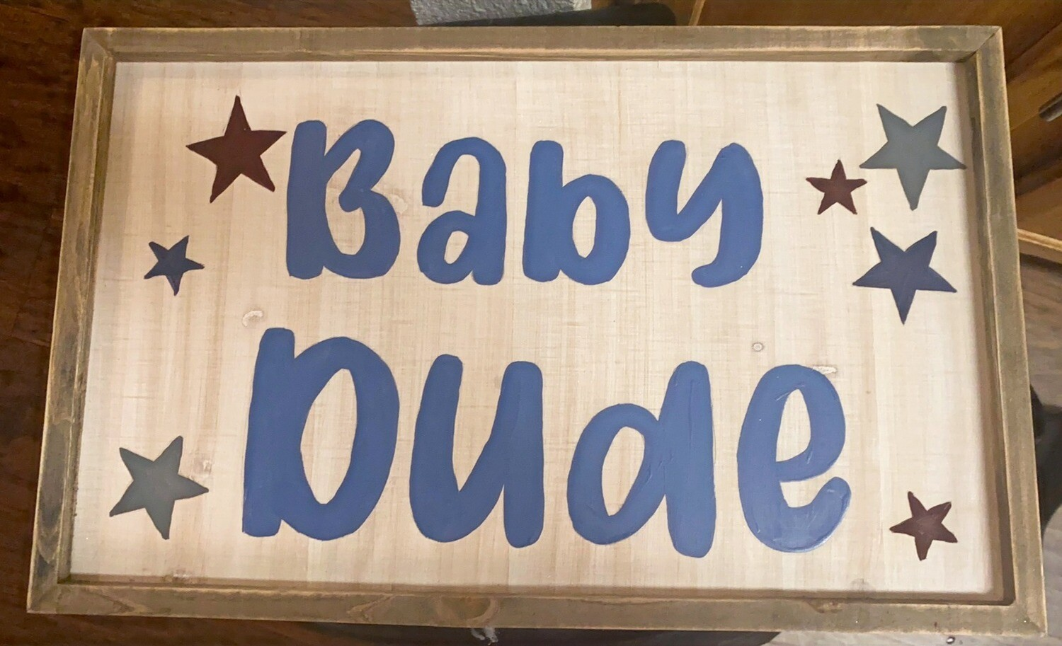 Customizable Baby Name Sign