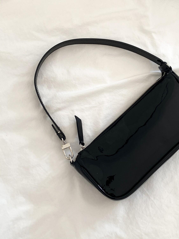 AMBER BAG CHAROL BLACK
