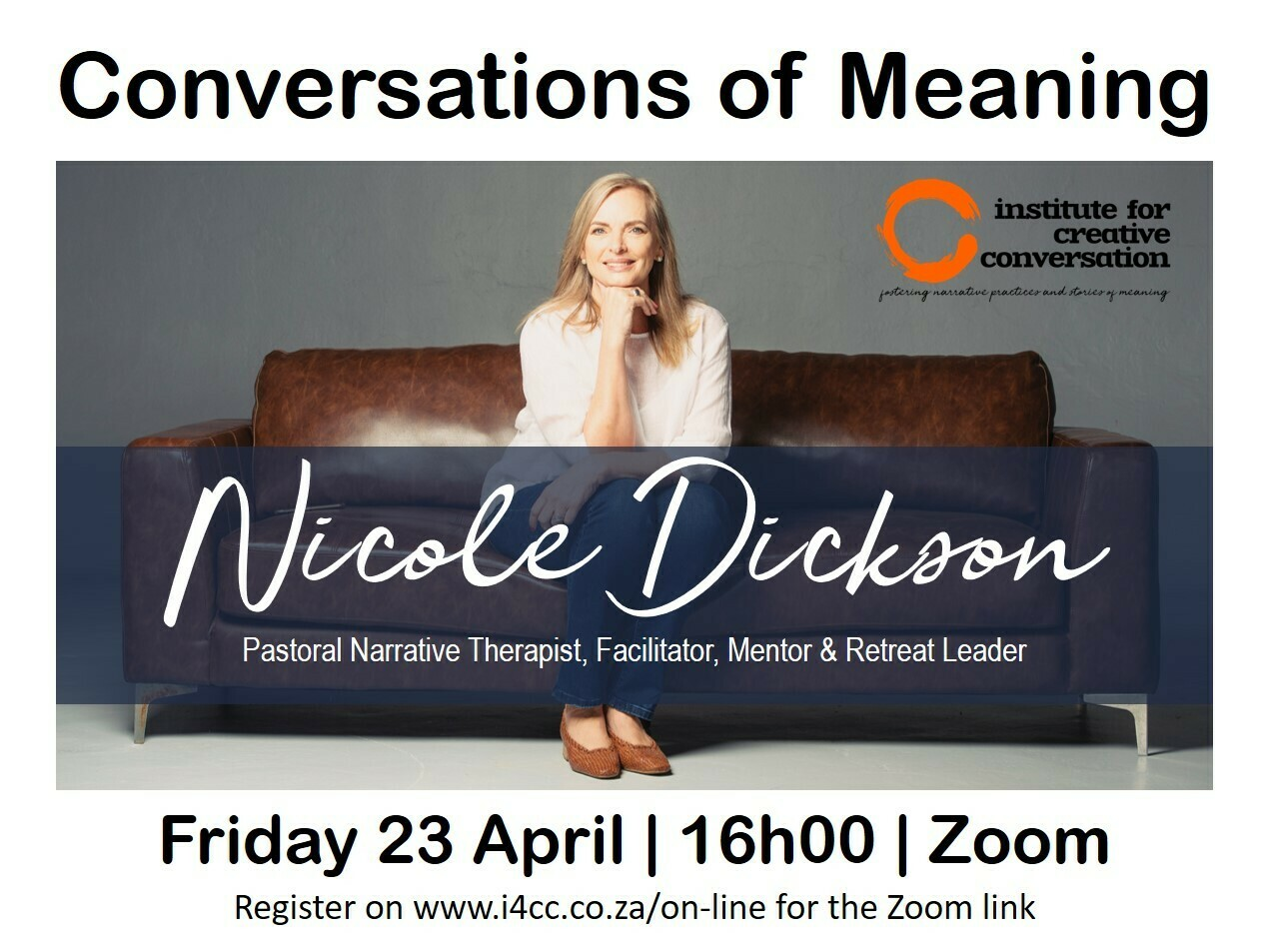 Conversation of Meaning with Nicole Dickson