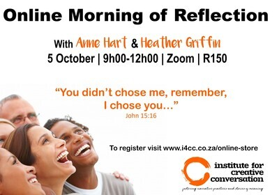 Morning of Reflection - 'You didn't choose me, remember, I chose you'