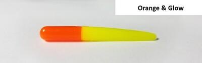 "2"" Muddy Water Baits - Orange & Glow  - MW115"