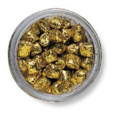 Berkley PowerBait Sparkle Nibbles - Gold Rush  - BKSCSN-GR