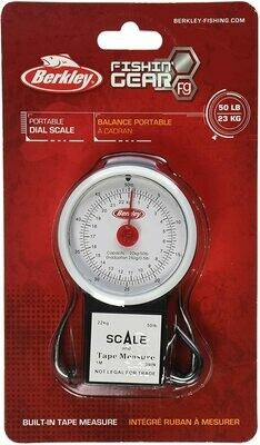 """Berkley 50lb Scale with 39"""" tape - BKBTFST50"""