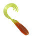 "2"" Triple Tip Grub 50pk - Pumpkin Pepper Orange Chartreuse Sparkle - SOTTG-50-36"