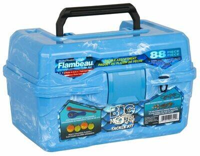 Flambeau Kids Big Mouth Tackle Box - Blue Swirl - FL355BMR