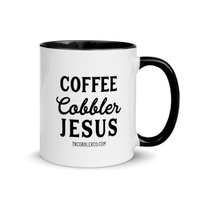Coffee | Cobbler | Jesus | Mug with Two Tone