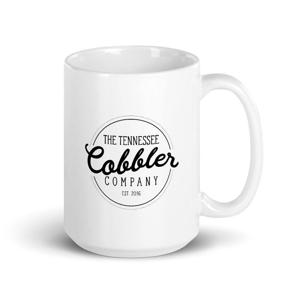 The Tennessee Cobbler Co. Logo Mug