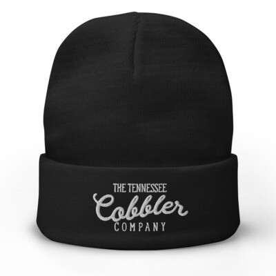 The Tennessee Cobbler Co. Embroidered Beanie