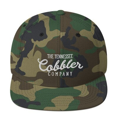 The Tennessee Cobbler Co. Camo Snapback Hat