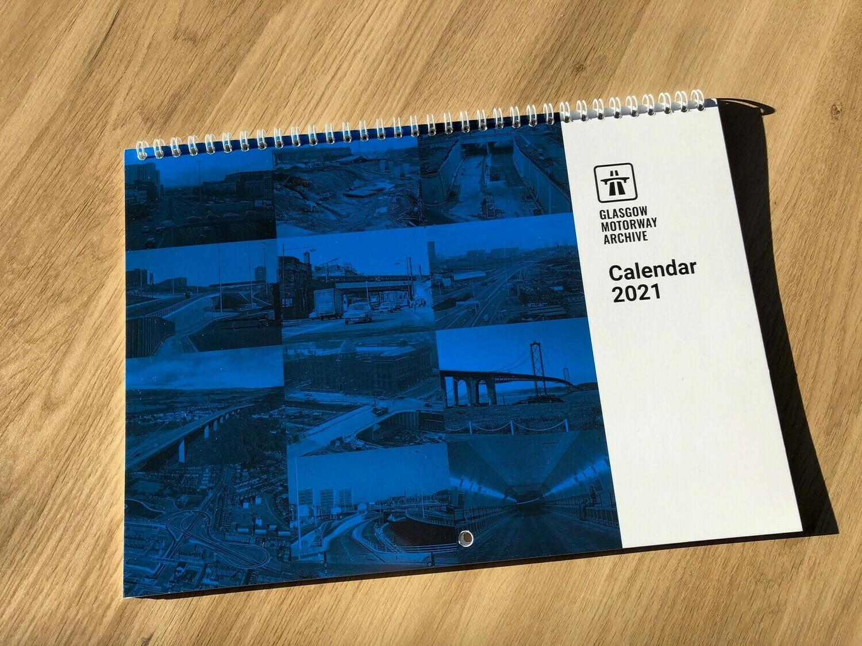 2021 A4 Wall Calendar (FREE UK P&P)