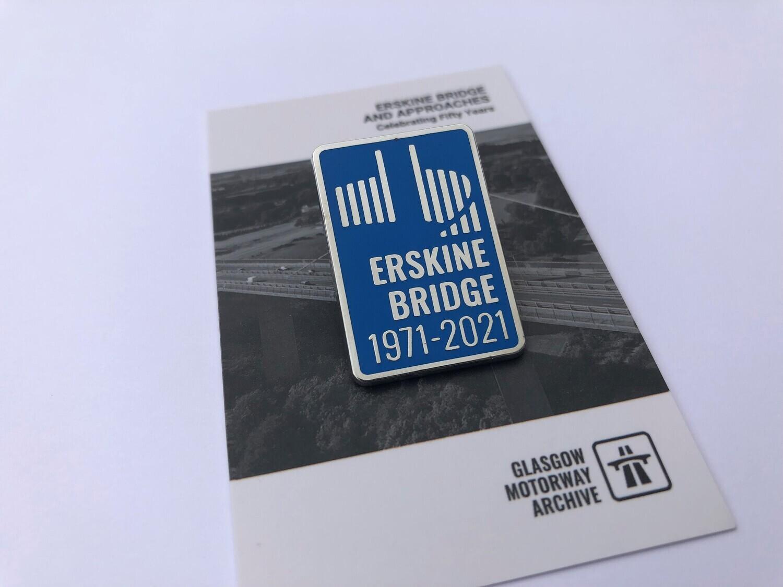 Erskine Bridge - 50th Anniversary Enamel Badge (Limited Edition)
