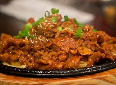 Pork Bulgogi (돼지불고기)