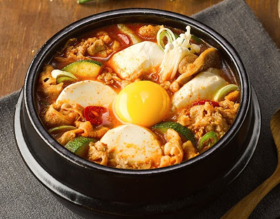 Beef Soon Tofu Jeegae (소고기순두부찌개)
