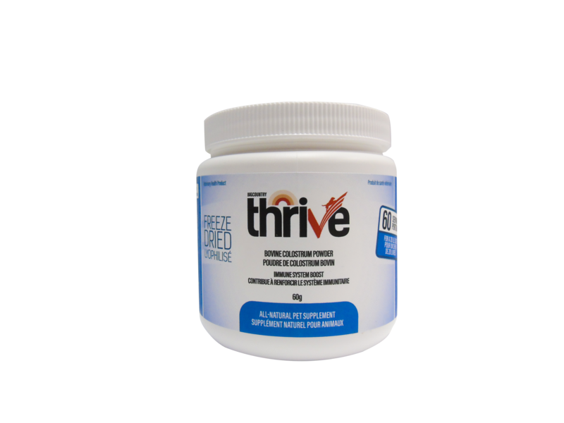 THRIVE -  Bovine Colostrum Powder – 60g