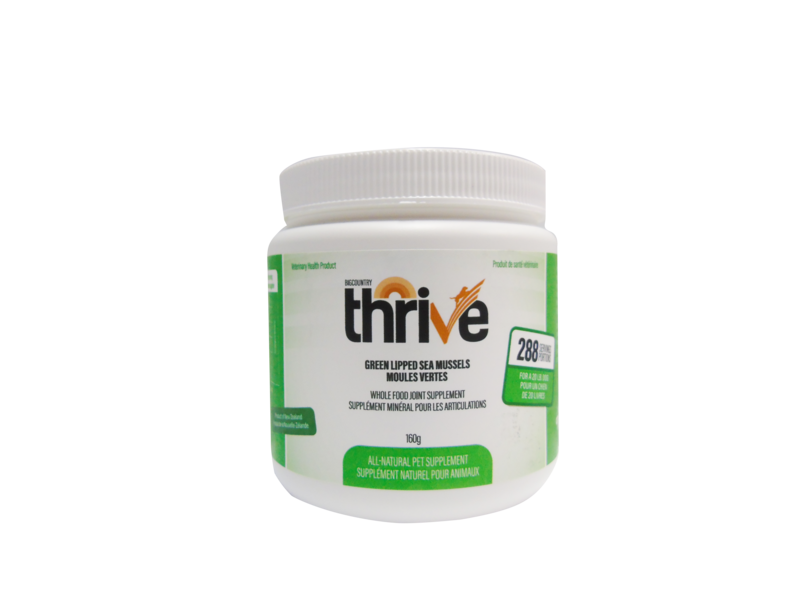 THRIVE - Green Lipped Mussels – 160g