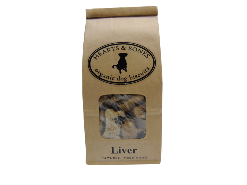 HEARTS AND BONES - Liver Organic Dog Biscuits