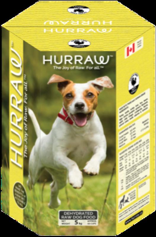 HURRAW Turkey Dehydrated Raw Dog Food  10 Kg