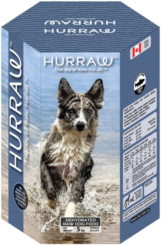 HURRAW Fish Dehydrated Dog Food 10Kg