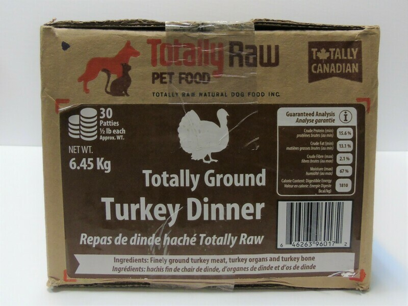 TOTALLY RAW - Turkey Dinner