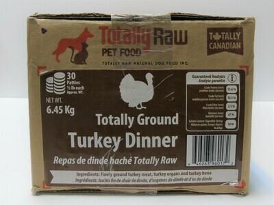 TOTALLY RAW - Turkey Dinner