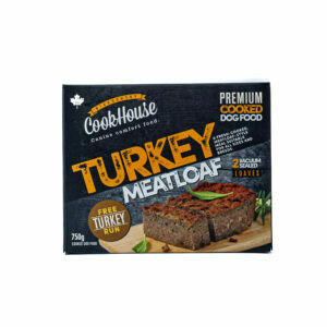 BIG COUNTRY RAW - Cookhouse TURKEY Meatloaf - 750g