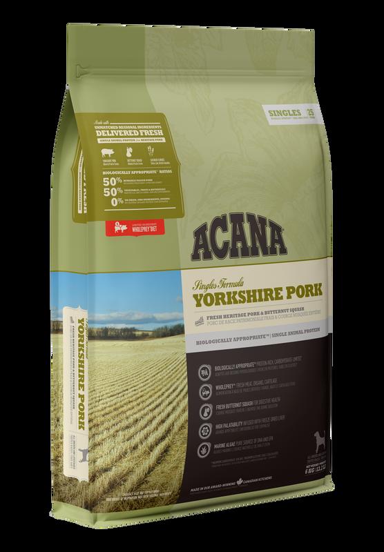 ACANA - Singles Yorkshire Pork - 11.4 Kg
