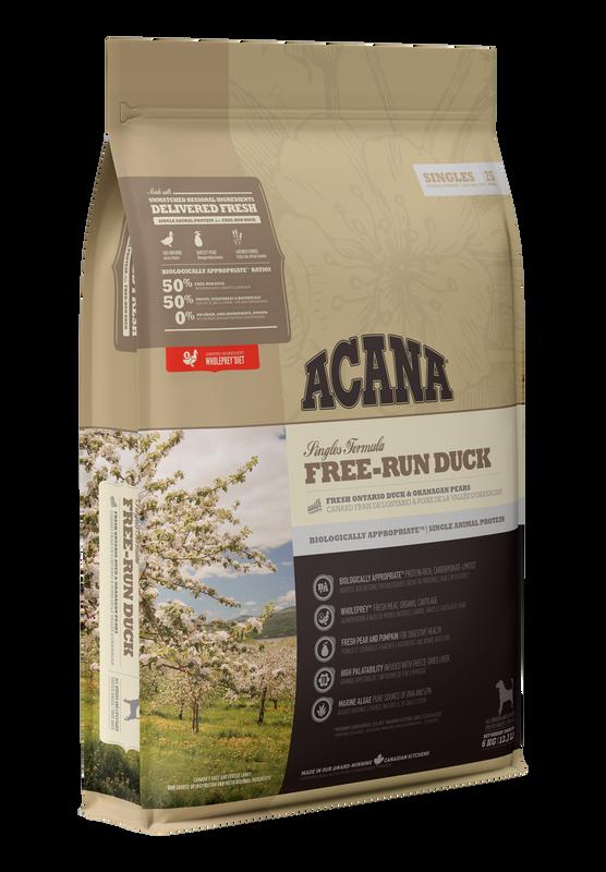 ACANA - Singles Free-Run Duck - 11.4 Kg