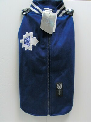 KARSUH - Maple Leaf Jacket W/Faux Leather Sleeves - Size XL
