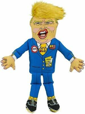 FUZZU - Trump Parody Stuffed Dog Toy