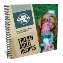 BIG COUNTRY RAW - Cookbook - Frozen Mold Recipes