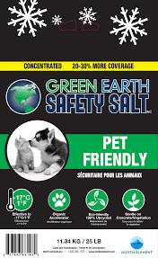 GREEN EARTH - Pet Friendly Safety Salt - 25 LB