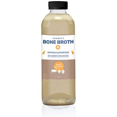 TOTALLY RAW - Synergy Beef With Reishi Mushroom Bone Broth