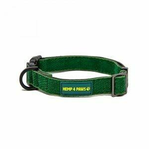HEMP 4 PAWS - Hemp Dog Collar - Green - Small