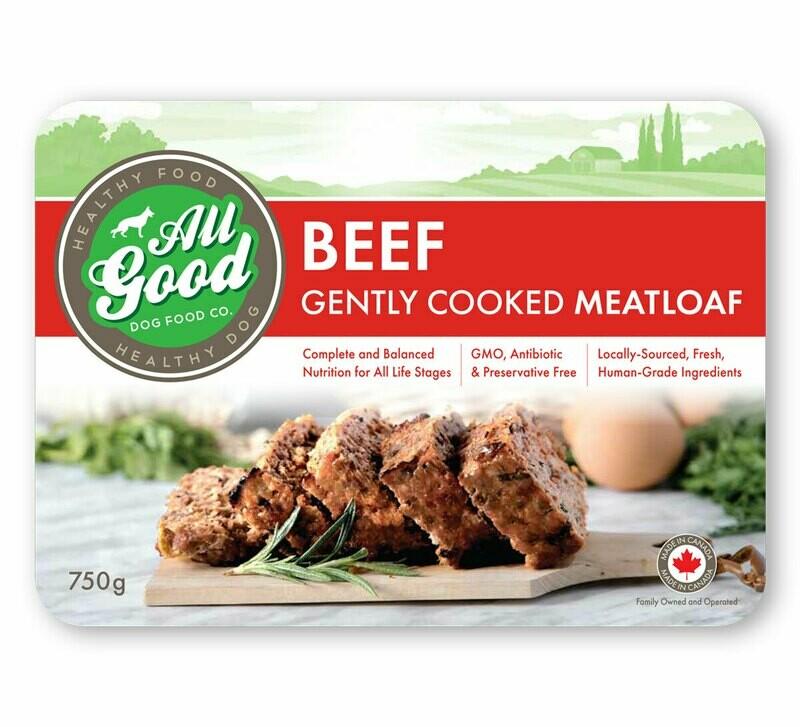 ALL GOOD DOG FOOD - Beef Meatloaf