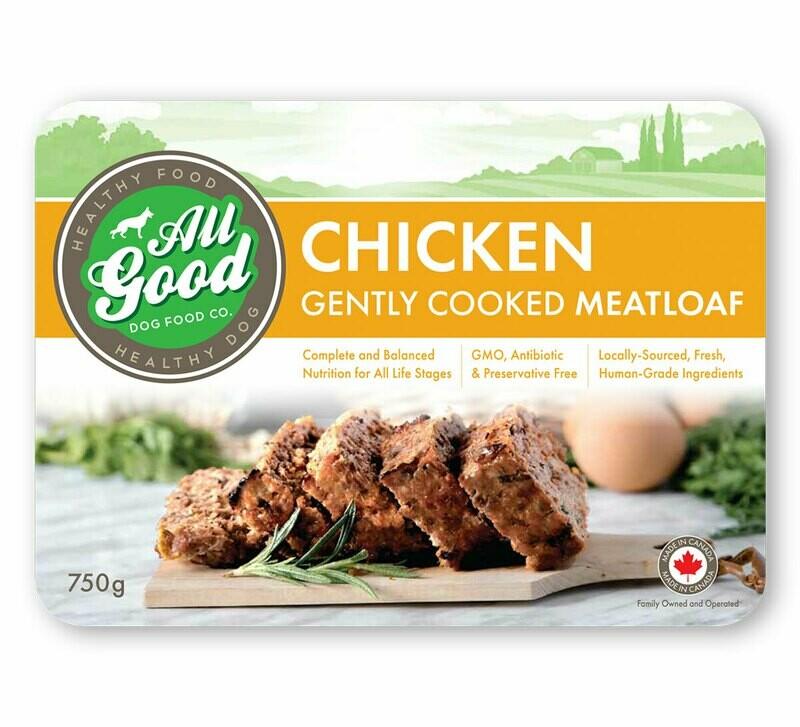 ALL GOOD DOG FOOD - Chicken Meatloaf