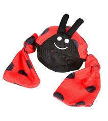 JOLLY PET - X- Large Lady Bug Tug Toy