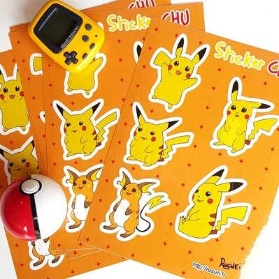 Chu [Planche de Stickers / Stickers Sheet]
