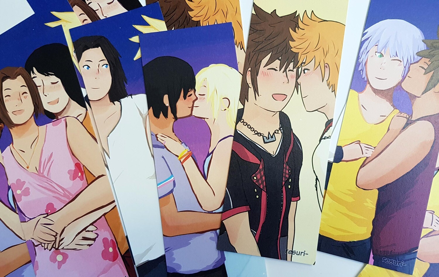 KH ships [Marque-page / Bookmark]