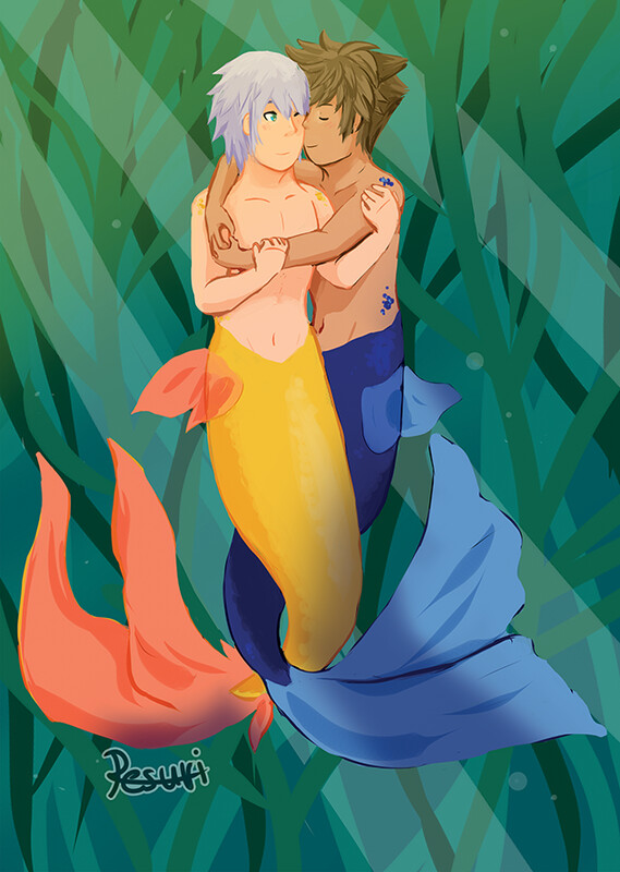 Mermaid Soriku [A4 Impression/Print]