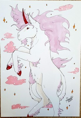 Pink unicorn [Original]
