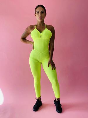 Neon Wave Jumpsuit