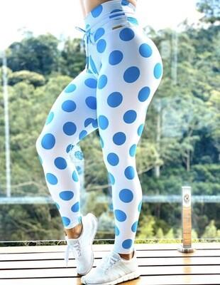 Blue Dot Leggings
