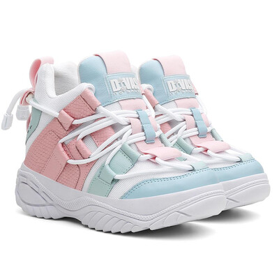 Cotton Candy High Sneakers