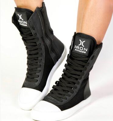 Black Iron Training Boots