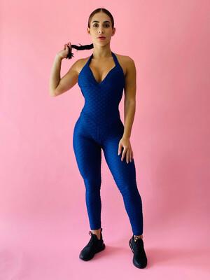Navy Blue Gem Jumpsuit