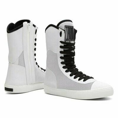 White Iron Training Boots
